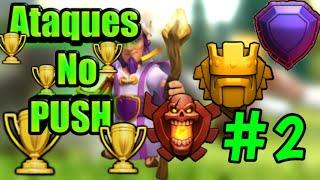 #2 Ataques No Push !!! Clã Facção Central - Tche_BR - Clash of Clans