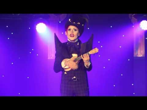 Joe Black pure genius performing at Brighton Fringe Festival 2014 for Cabaret Bohem