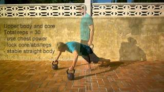 Fat meltdown : Full Body Kettlebell Workout Routine : Personal Trainer Costa Blanca