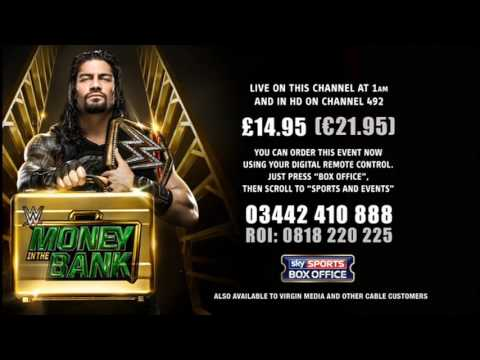 WWE | Money in the Bank | SKY SPORTS BOX OFFICE | Order Screen