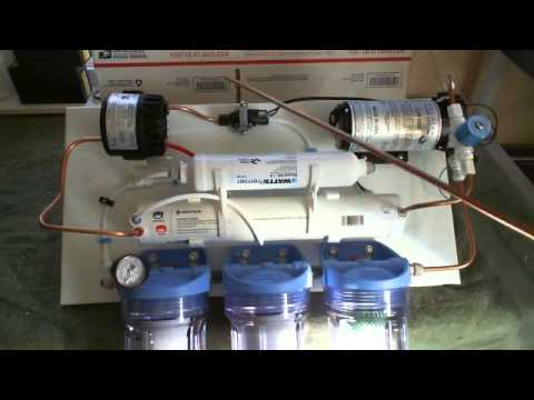 How To Plumb Ro System Diy Schematic And Plumbing Of