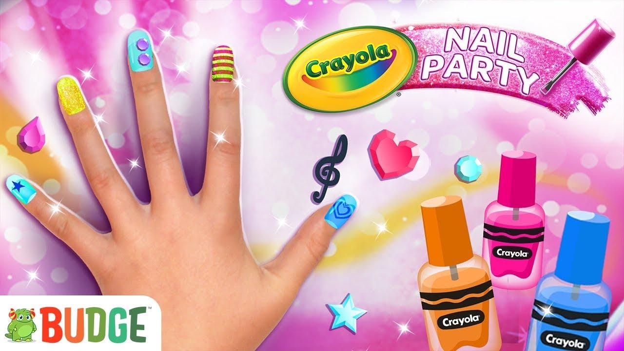 Crayola Nail Party – A Nail Salon Experience | Official App Gameplay ...