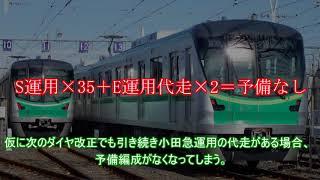 ゆっくり解説 小田急ダイヤ改正による千代田線の変化 運用・サークルE…
