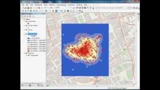 GIS Spatial Analyst Tutorial using John Snow's Cholera Data