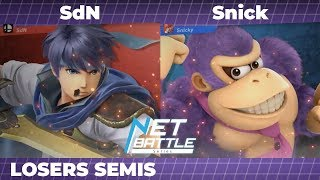 NBS9 | SdN (Ike) vs Snick (Donkey Kong) | Losers Semis