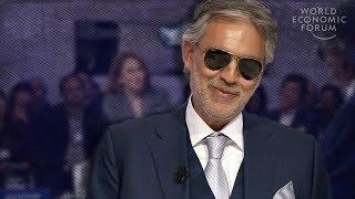 Andrea Bocelli: Pour Être Heureux, Vous Devez Créer