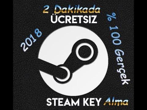 2 DAKİKADA BEDAVA STEAM KEY ALMA!!! %100 GERÇEK -2018-