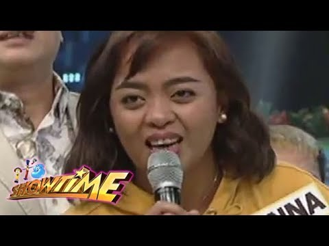 It S Showtime Funny One Donna Cariaga Grand Winner Youtube