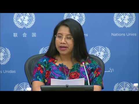 UN Declaration on the Rights of Indigenous Peoples - Press Conference