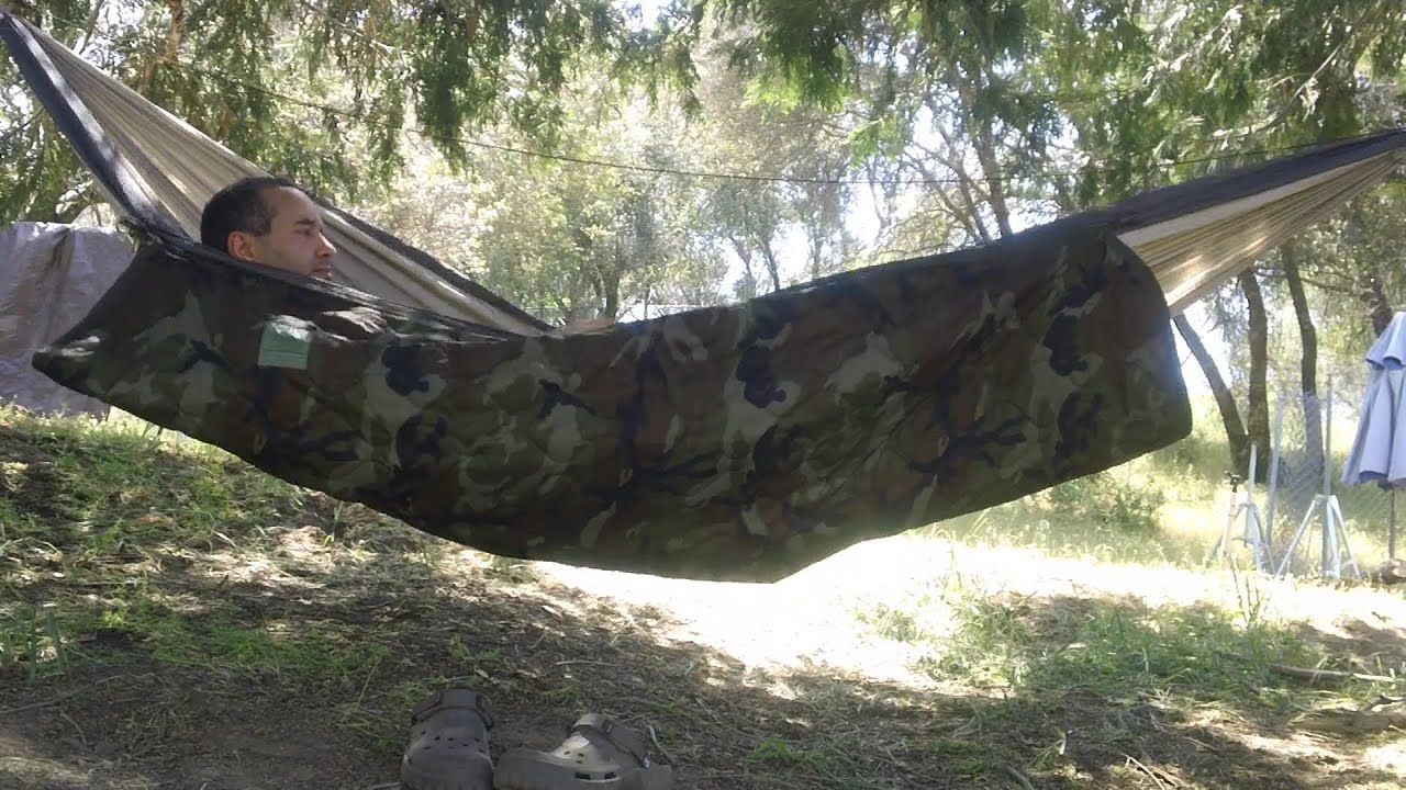 My First Intro To Hammocks For Shelter Cheap Hammock