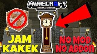 Trik Buat Jam Kakek (Grandfather Clock) No Mod - Tutorial