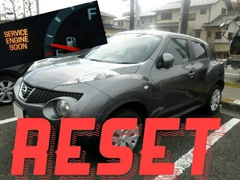 How to reset Service Engine soon Light on a 2012 Nissan Juke