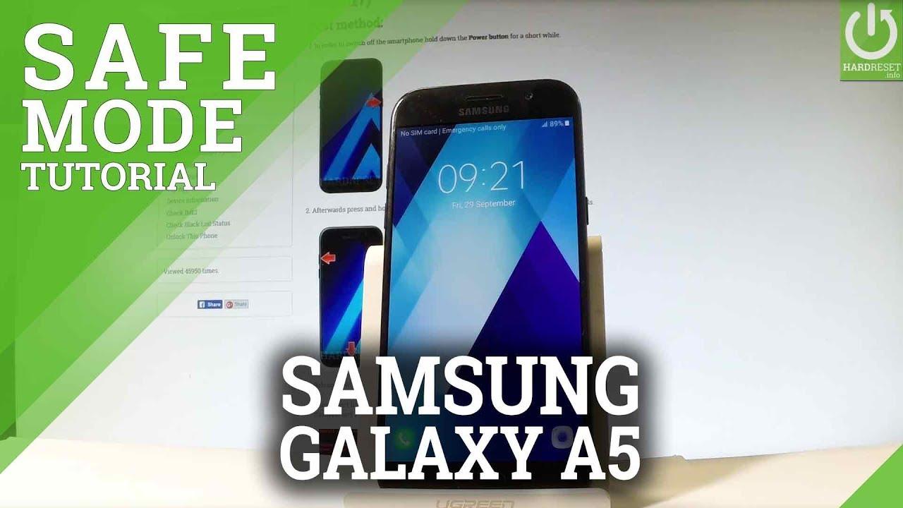Safe Mode SAMSUNG Galaxy J7 Prime 2 - HardReset info