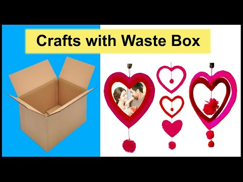 Craft ideas With waste materials