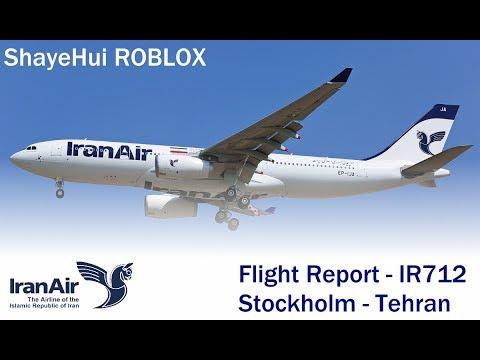 FLIGHT REPORT – IranAir flight 712.