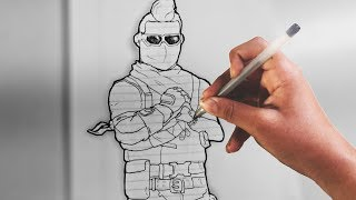 Fortnite: Armadillo,Wildcard,and Crackshot | Drawings