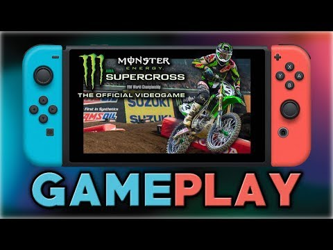 Monster Energy Supercross - The Official Videogame | First 20 Minutes | Nintendo Switch