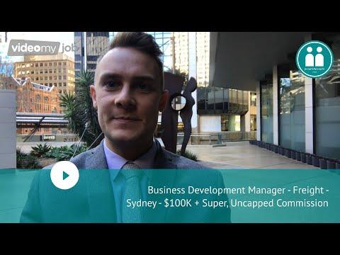 Business Development Manager - Freight - Sydney - $100K + Super, Uncapped Commission