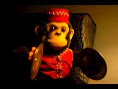 Creepy Clapping Monkey Youtube