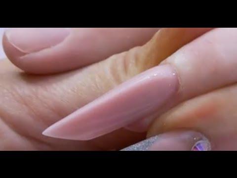sculpt edge acrylic nail