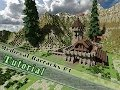 Minecraft Tutorial: How To Build A Medieval Barrack! Part 2/2