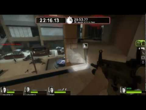 Left 4 Dead 2- 31 Minute Survival Mode- Mall Level