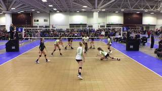 Abby Stratford, Class of 2020, #4 Middle Blocker