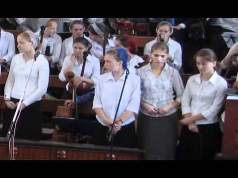 Жизнь молодежи г. Курска (2-ой выпуск)МСЦ ЕХБ 2007.WMV