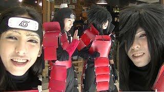 Ash as Hashirama Senju and Iqi as Madara Uchiha, VBG Anime Fiesta 2014, Day 2, P5