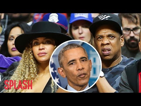 Did Barack Obama Just Reveal Beyoncé is Pregnant with Twin Girls? | Splash News TV