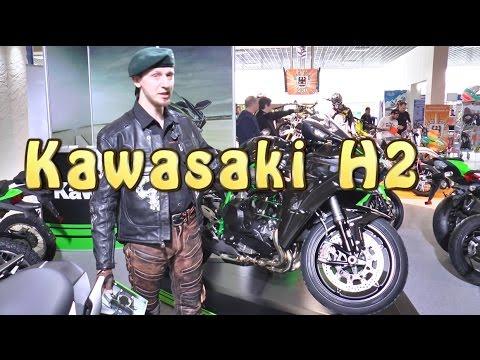 [Докатились!] Обзор Kawasaki H2. Космолет..