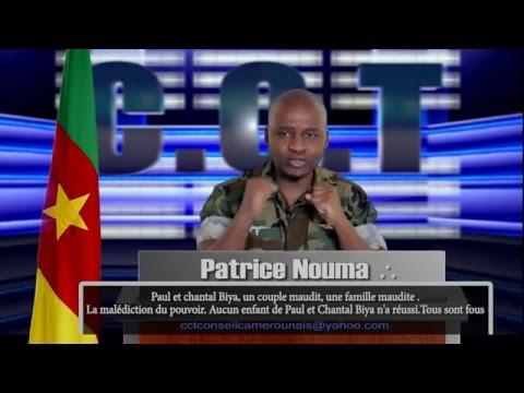 Paul et Chantal Biya, Brenda Biya, une famille maudite........................