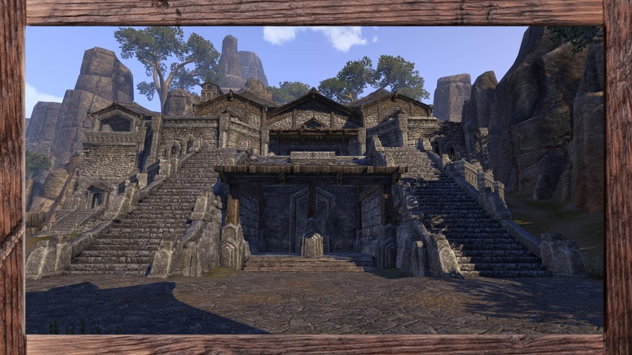 Eso Homestead Decorating A Large Orc House On The Pts Youtube