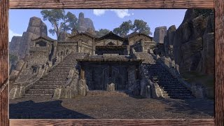 ESO Homestead - Decorating a large Orc house on the pts!