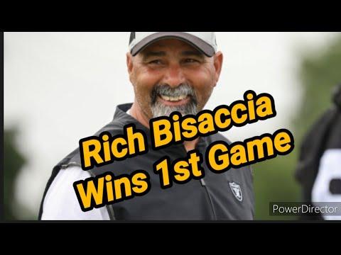 Las Vegas Raiders: The Rich Bisaccia Era Begins With Victory Over Broncos By Joseph Armendariz
