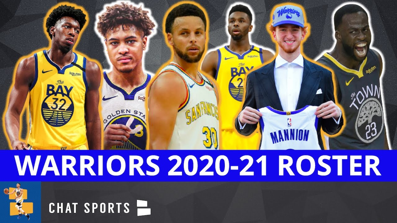 2020 21 Warriors Roster Breakdown Analyzing Every Warrior On The Training Camp Roster Youtube