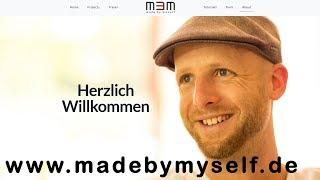 www.madebymyself.de - meine eigene Webseite thx to Malte Helmhold