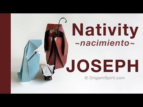 Make a Christmas  Nativity -JOSEPH :: Pesebre para Navidad -JOSÉ