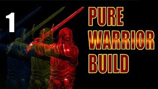 Skyrim Pure Warrior Build Walkthrough HARDCORE SURVIVAL, NO MAGIC Part 1: Rules of Engagement