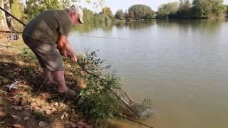 Pêche à la carpe au Lac de Lamontjoie