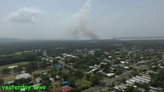Tewantin Bush Fire Emergency Evacuation Drone Overview