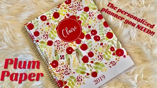 PERSONALIZE YOUR OWN PLANNER | You NEED this! Plum Paper