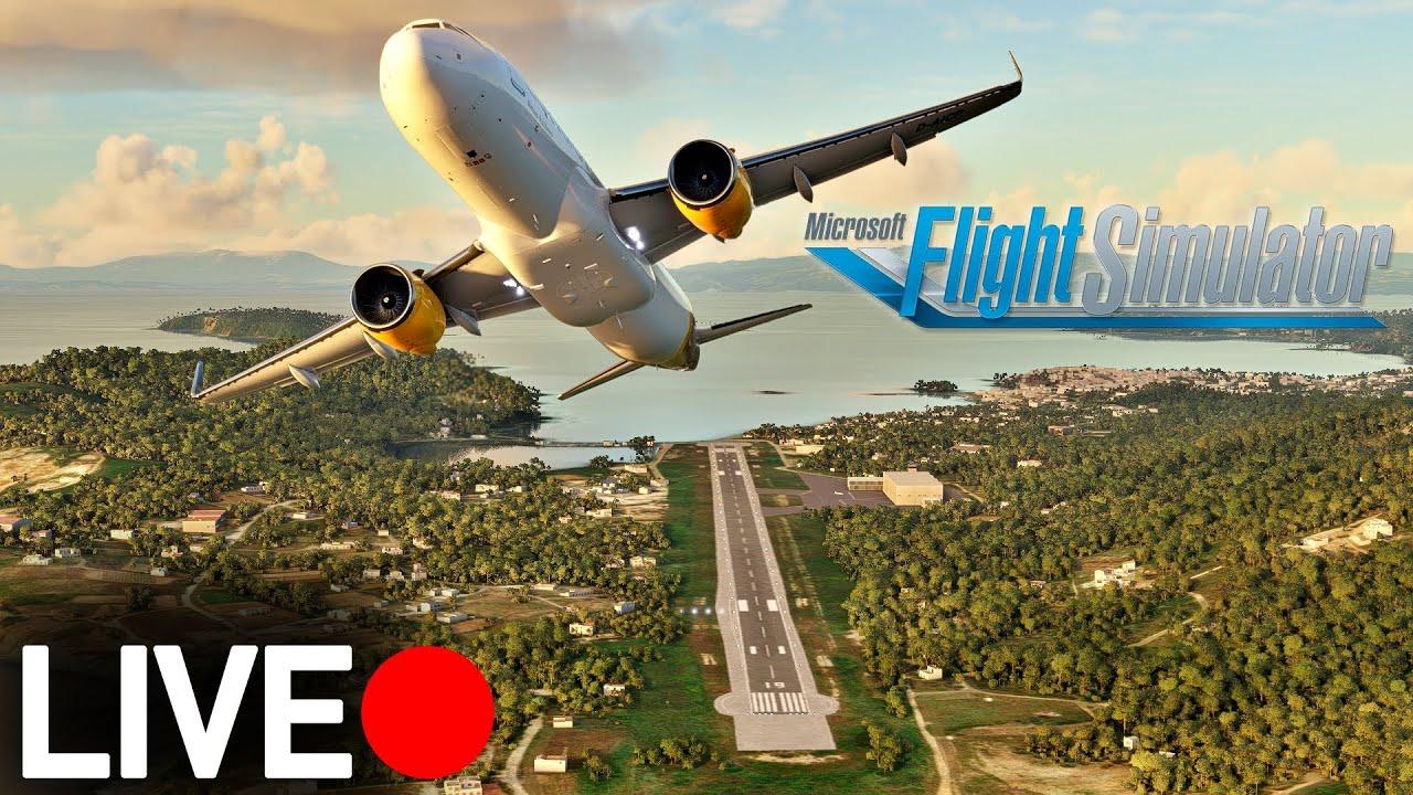 Mit dem Airbus nach Skiathos! Flight Simulator 2020 LIVE | AeroNewsGermany