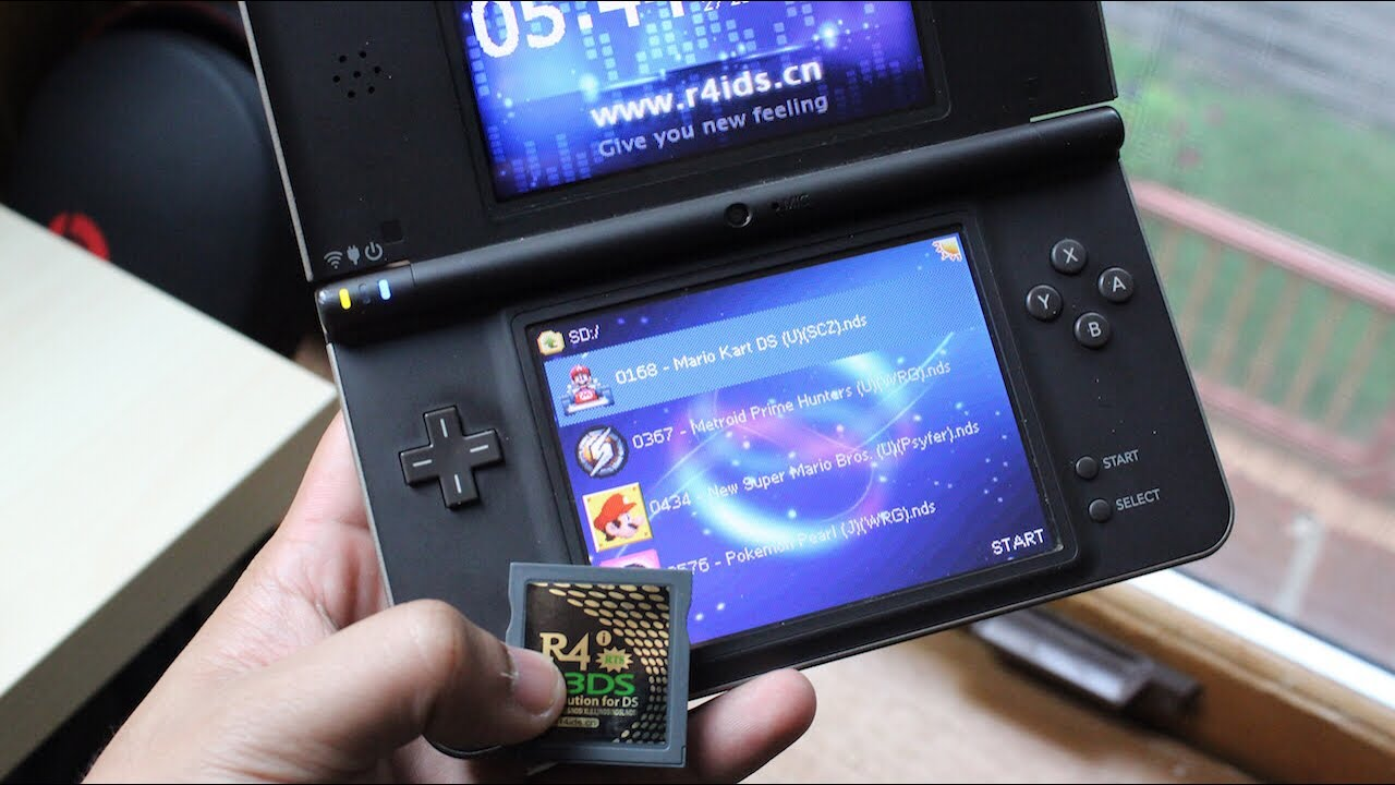 Hack Any Nintendo Ds Dsi 3ds To Play Free Games Flashkart Installation