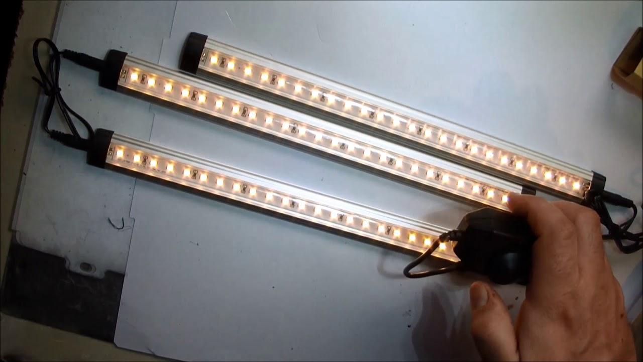Viugreum luce led sottopensile lampada da sottopiano for Lampade lunghe a led