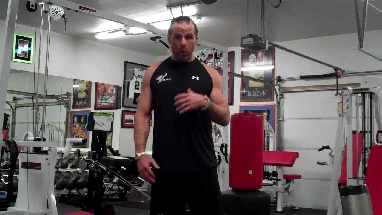 Shawn Michaels Favorite Total Gym Exercises YouTube