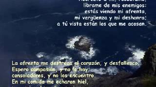 OREMOS CON EL SALMO 68