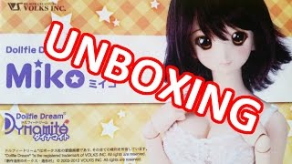 [The Doll Days] UNBOXING: Volks Dollfie Dream Dynamite Miko