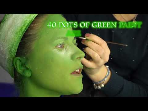 Wicked Tour Make Up Video 1