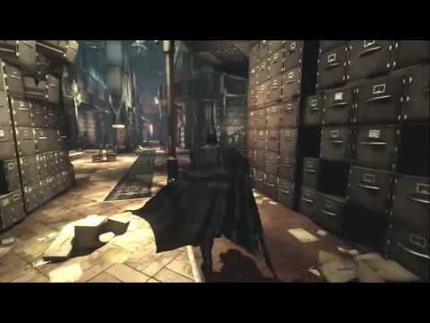 Batman Arkham Asylum Our records show that a Strange transfer request was made in this room